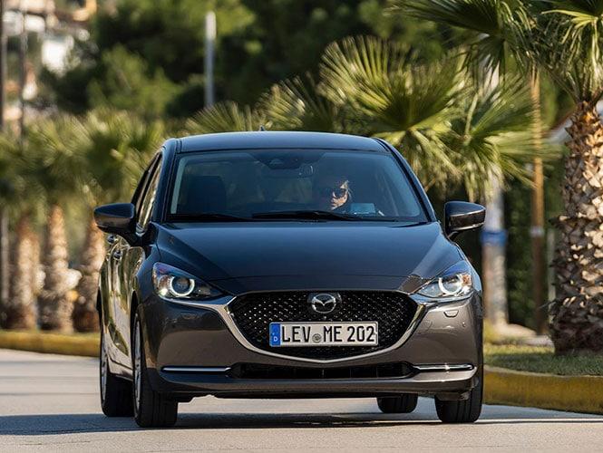 Mazda 2 2020 (3. Generation) in Matrixgrau-metallic
