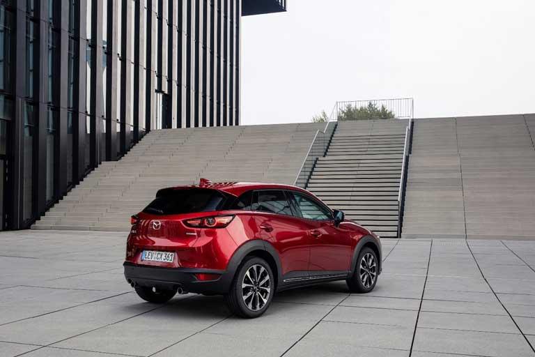 Mazda-CX-3-(2021)-Heckansicht